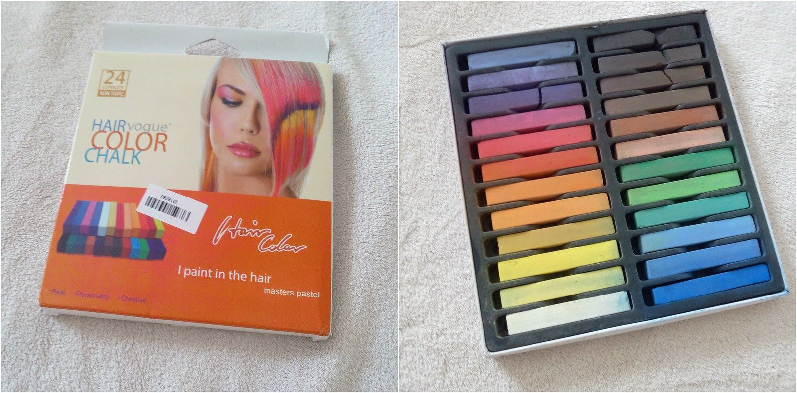 Revue : Hair Chalk