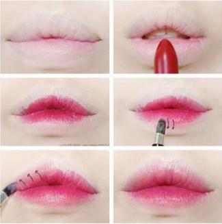 ~ Dégradé lèvres ~