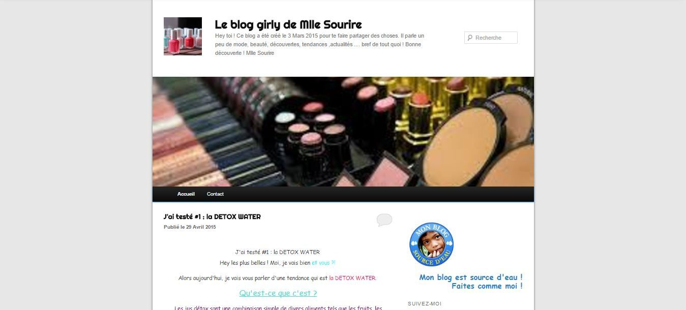 My discoveries beauty blog