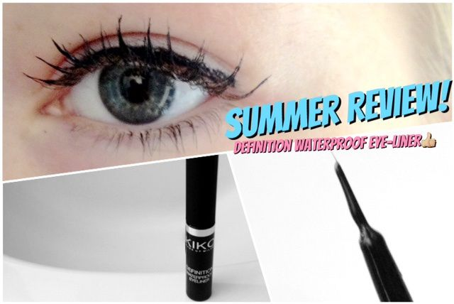 Definition Waterproof Eye-liner de Kiko ! [ Summer Review #2 ]