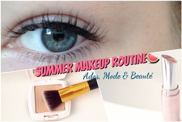 Summer Makeup Routine !