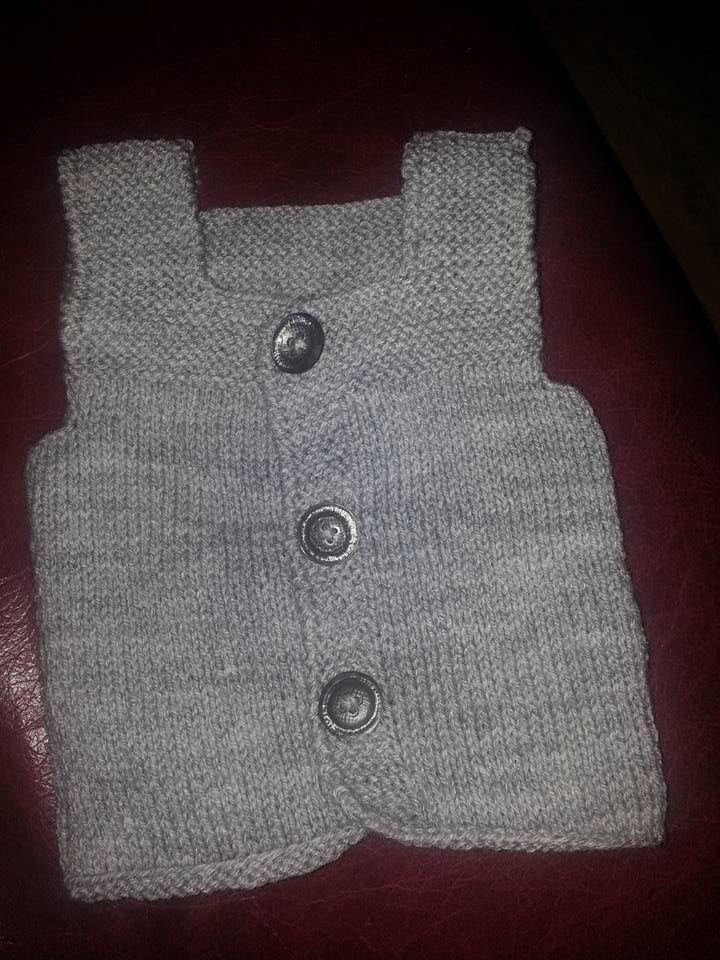 Gilet sans manches bébé 3 mois
