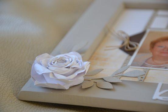 Avec le poinçon originals &quot&#x3B;Fleur en spirale&quot&#x3B;
