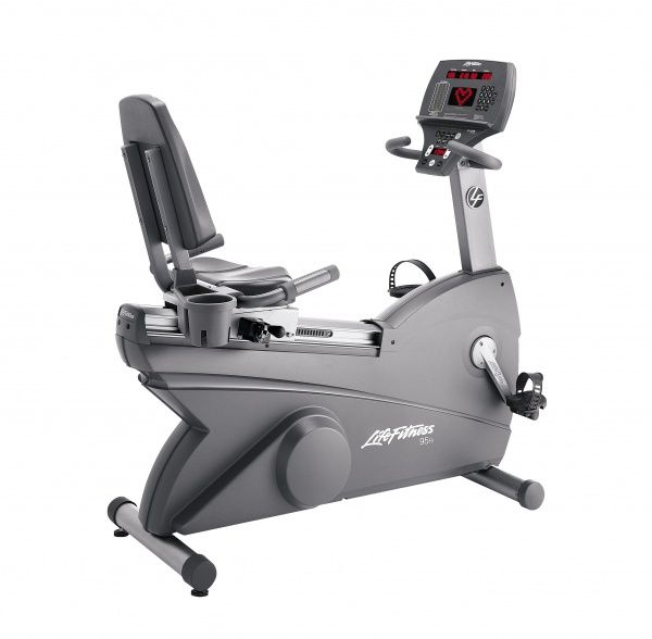 Le v lo allong 95ri silver life fitness velo elliptique tapis de course - Velo allonge fitness ...