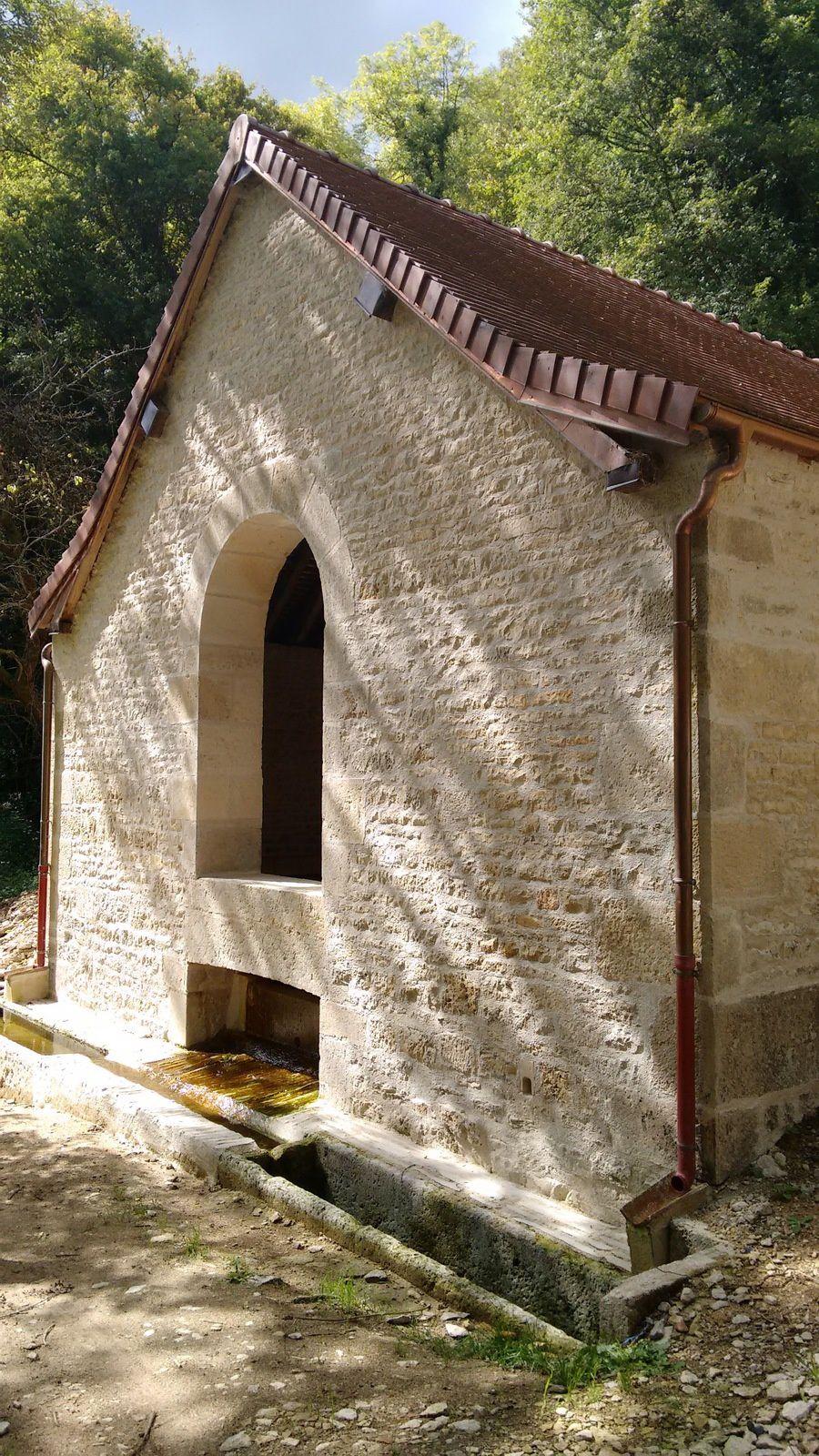 Inauguration du lavoir de Touillon (21)