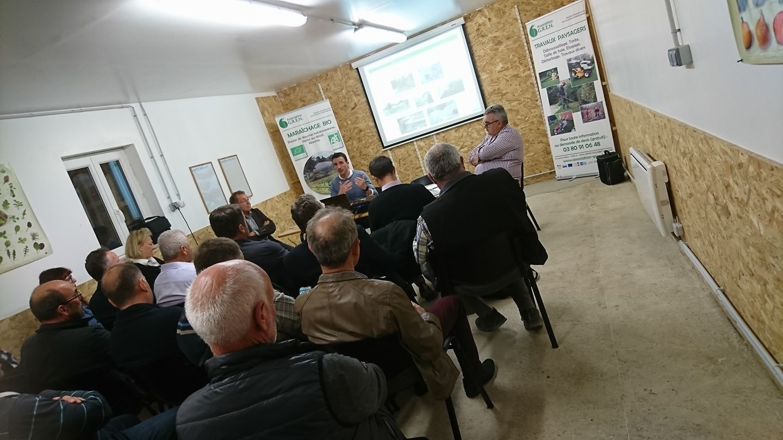 GREN accueille le club des Entreprises du Châtillonnais