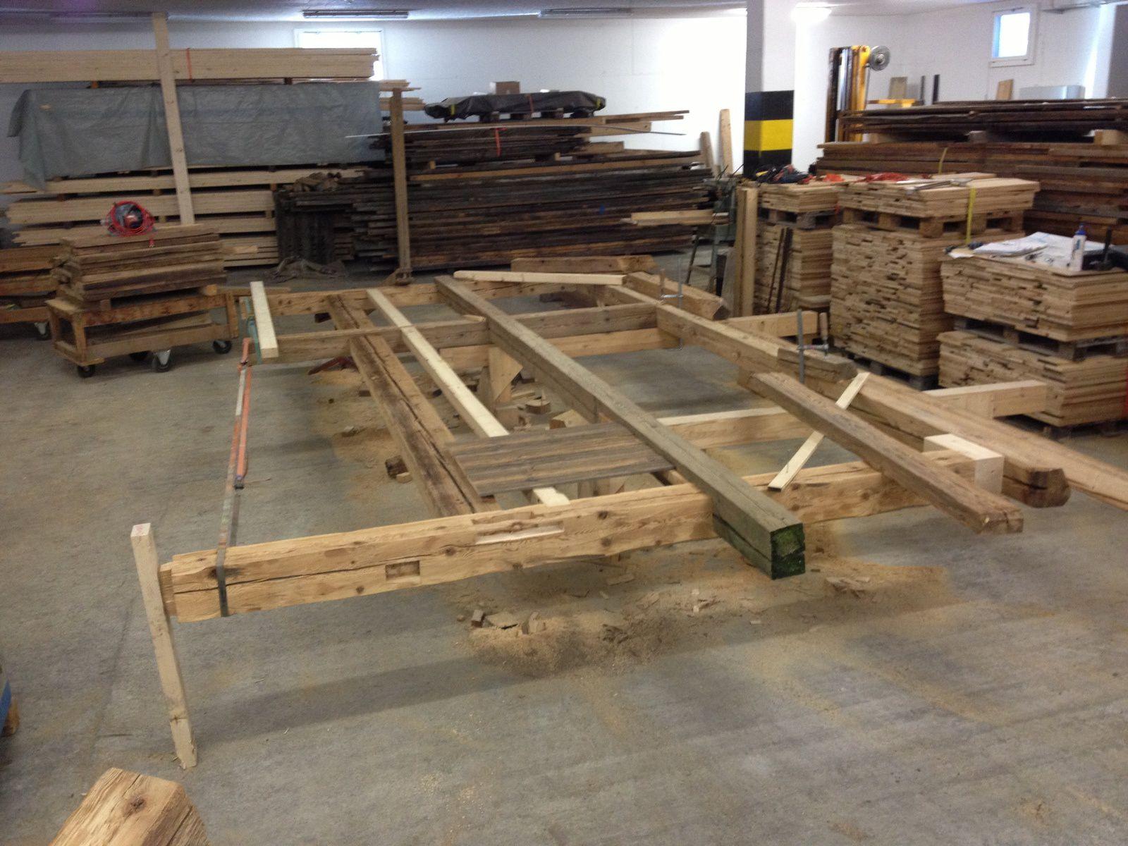 charpente bois neuf et vieux le bois sous toutes ses formes. Black Bedroom Furniture Sets. Home Design Ideas