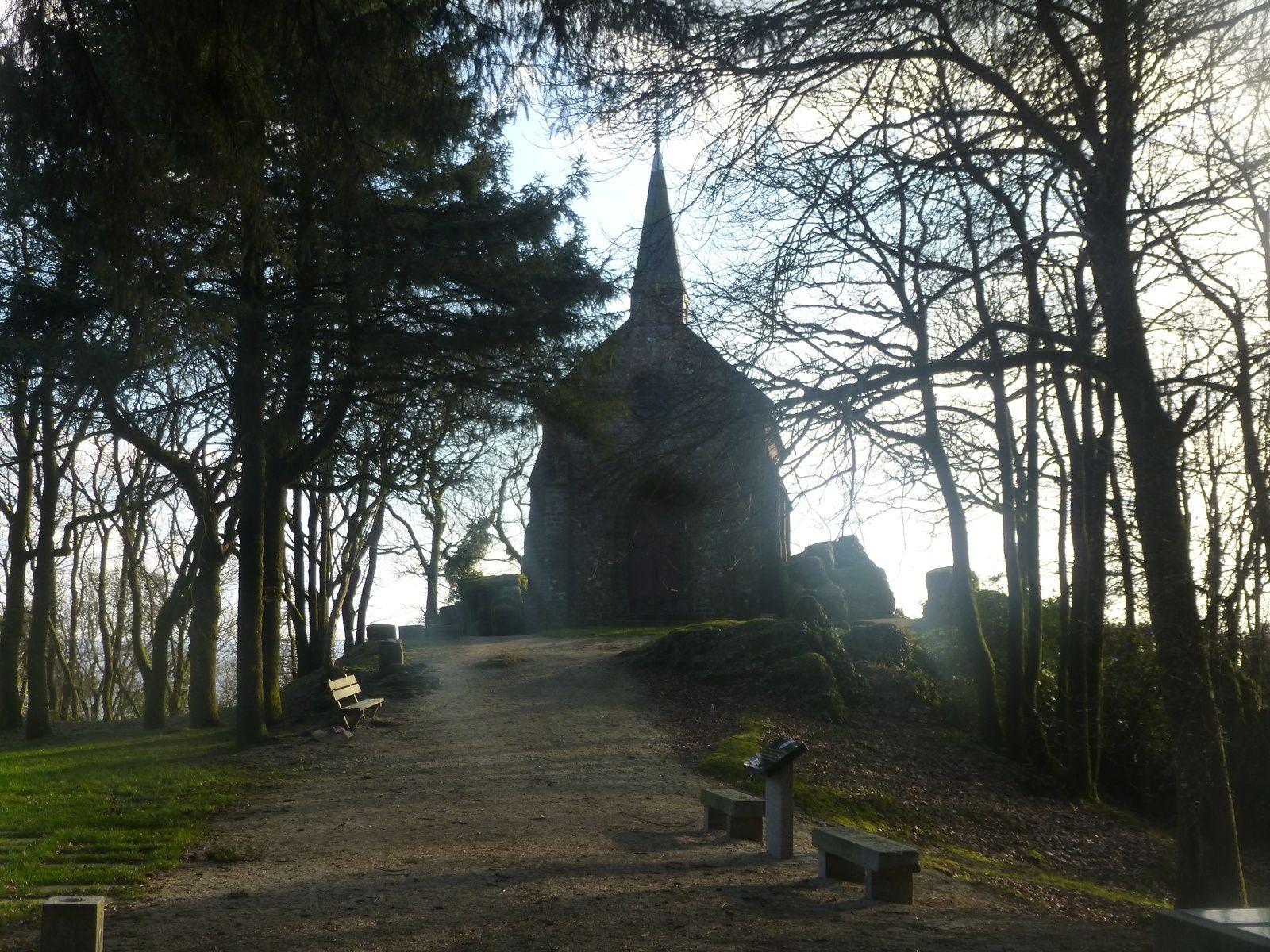 reportage photos de la petite chapelle a mortain