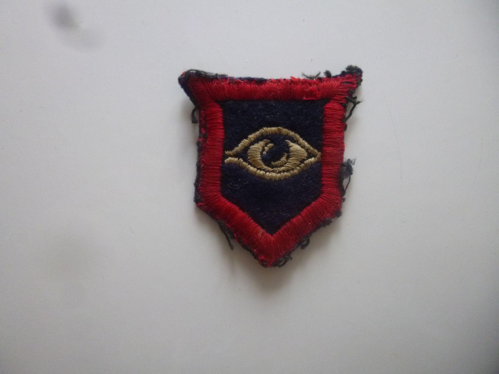 insigne brodé des armored guards