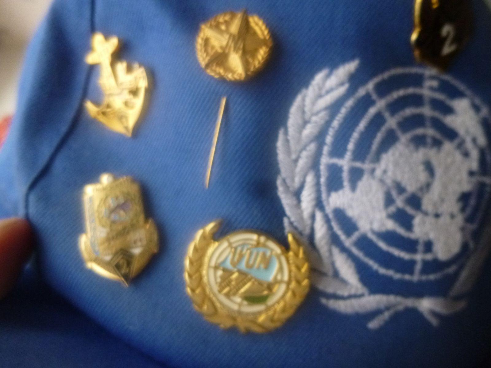 casquette de l ONU d un marsouin du second