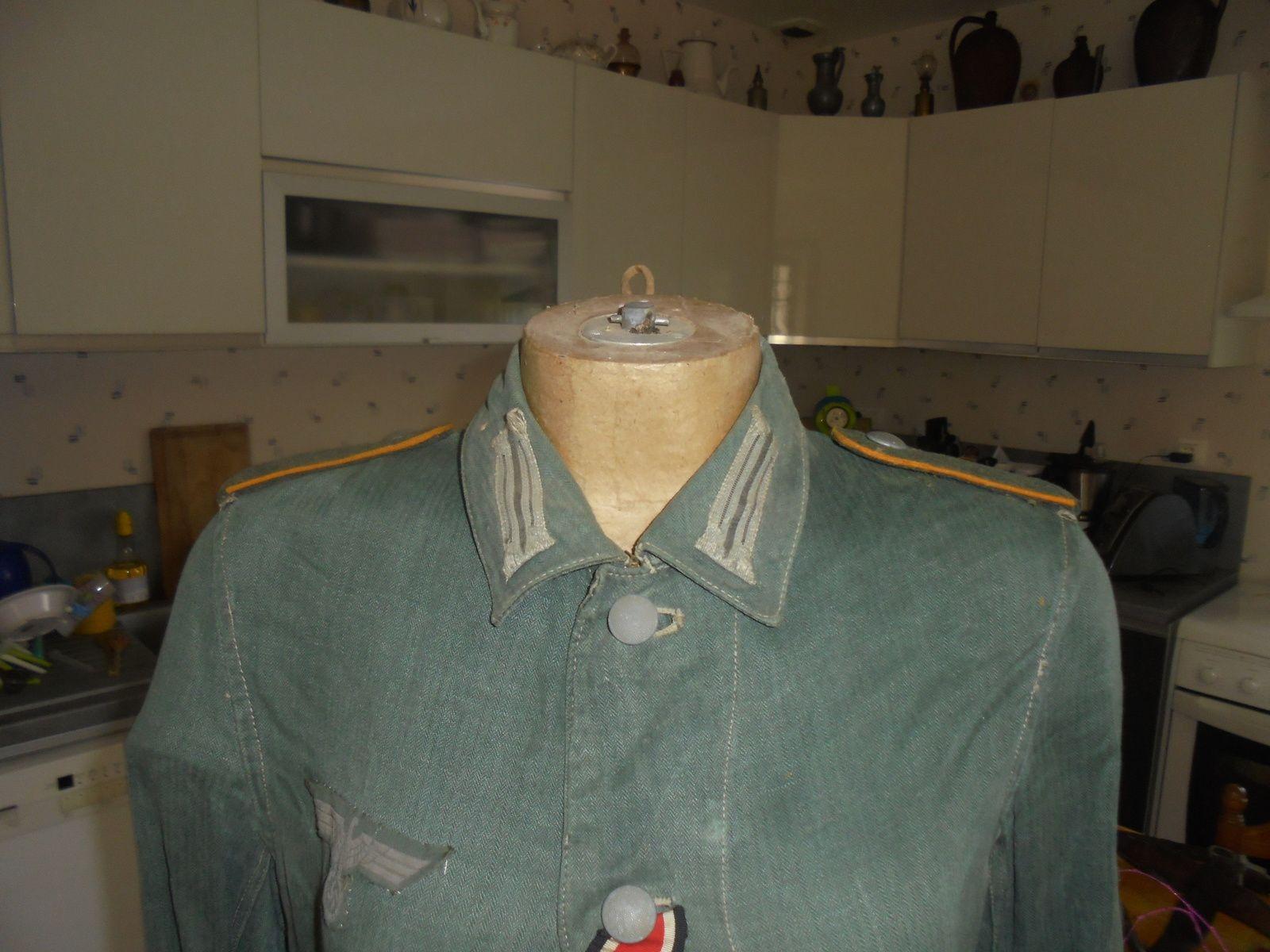 veste de travail d ete allemande (monté d origine)
