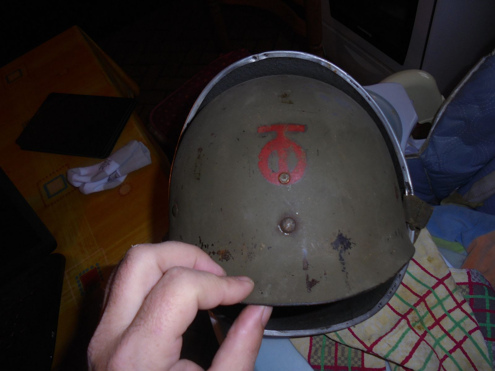 casque de la 90th division d infanterie us