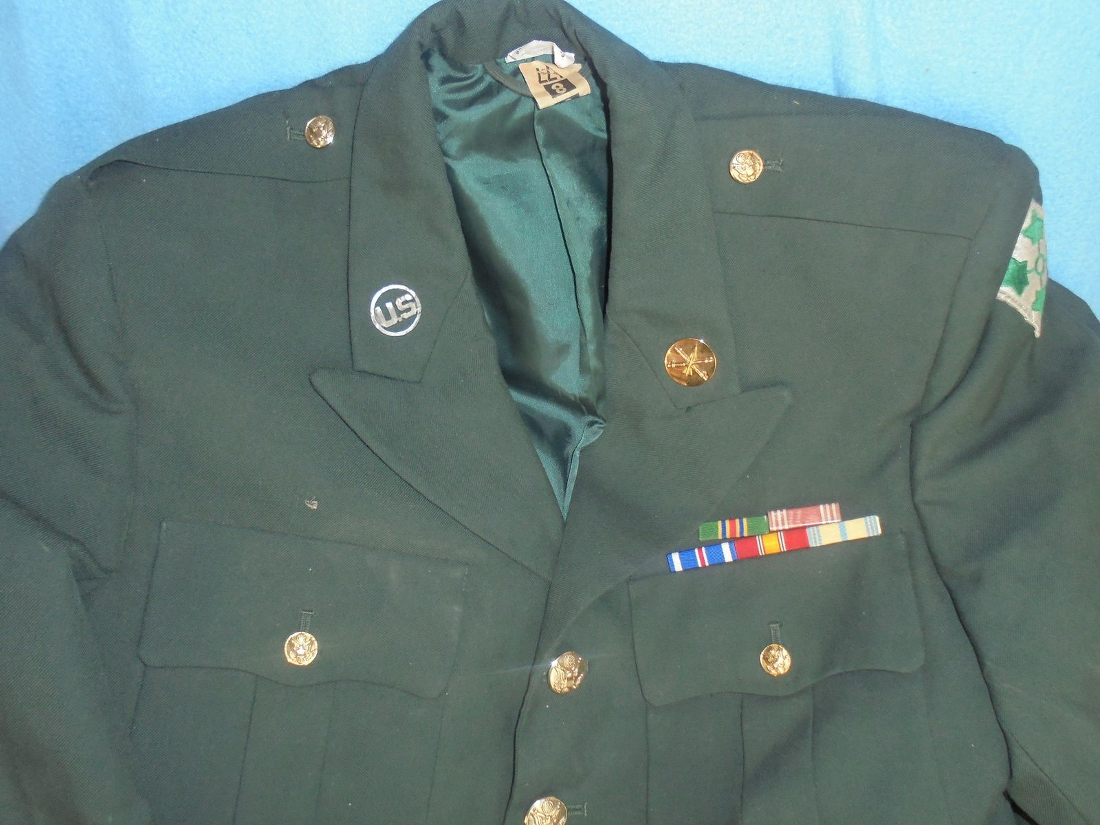 veste de sortie 4 poches d un first class de la ivy division vietnam