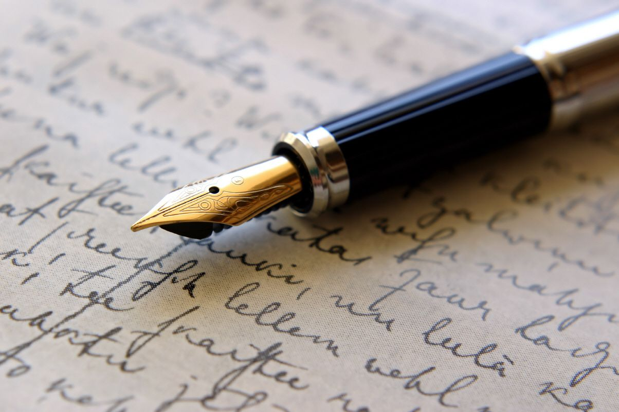 autobiography of a pen essay Essay-graders noticed that only 15 percent of students wrote their essays in  cursive  now that students have some idea of the history behind the fountain  pen,.