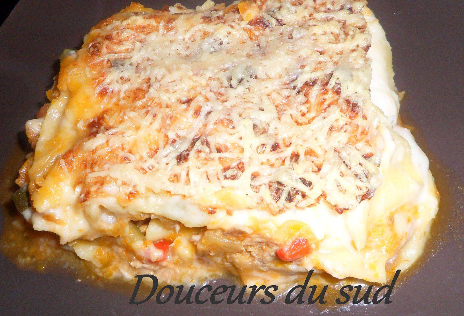 Lasagne Provencale Thon/Légumes