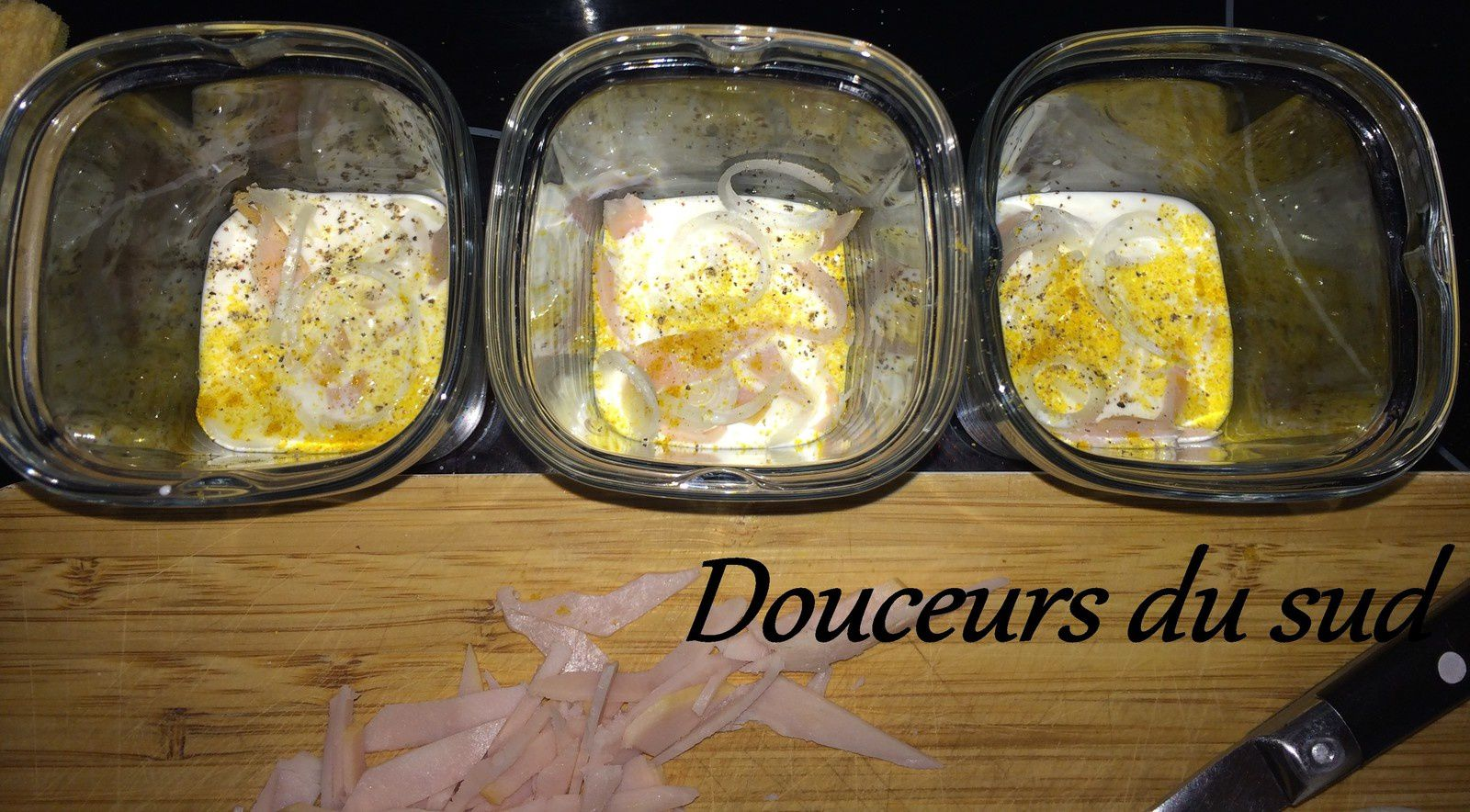 Oeuf cocotte Jambon/Fromage