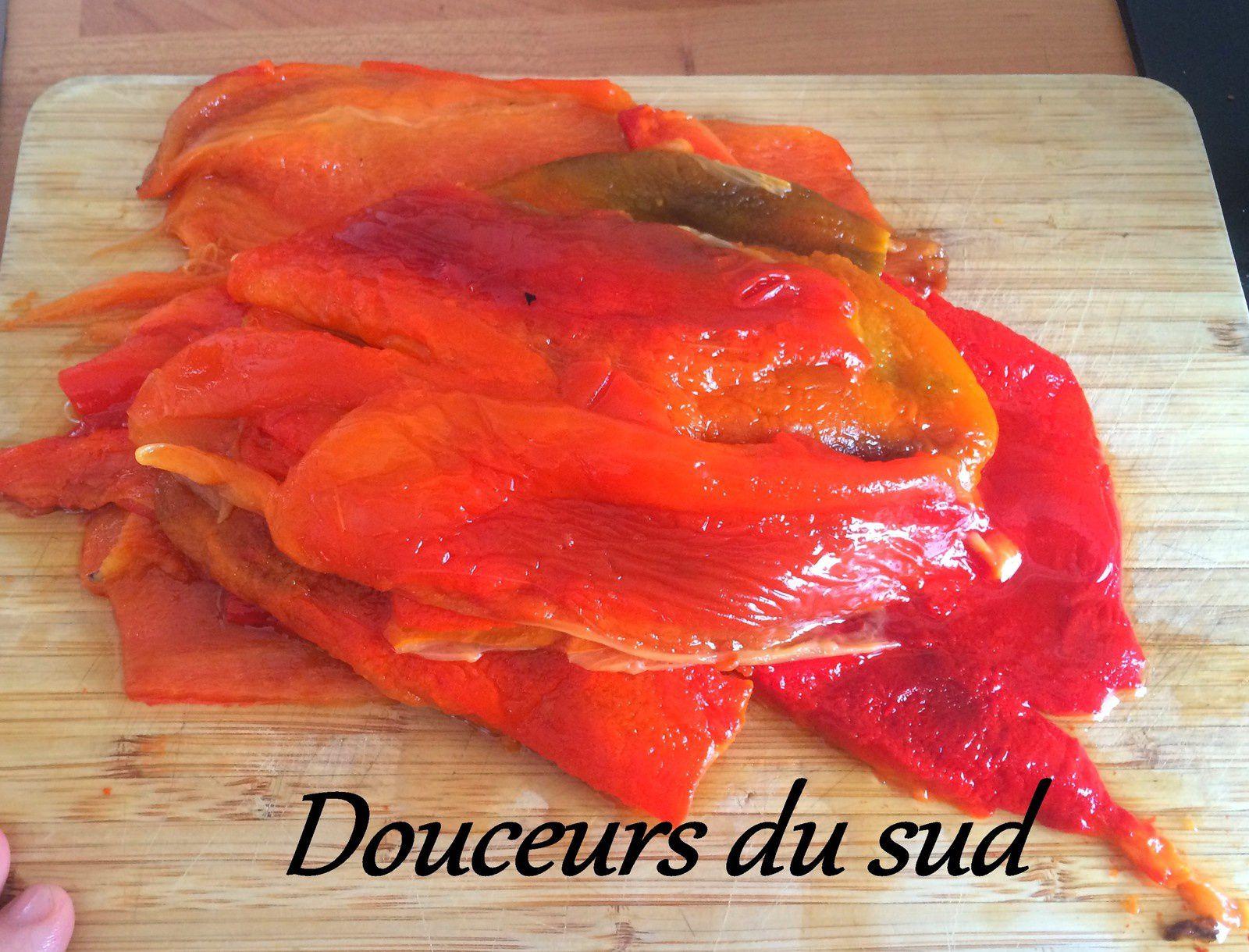 Salade Marocaine de Poivrons grillés ( Fatima Hal)