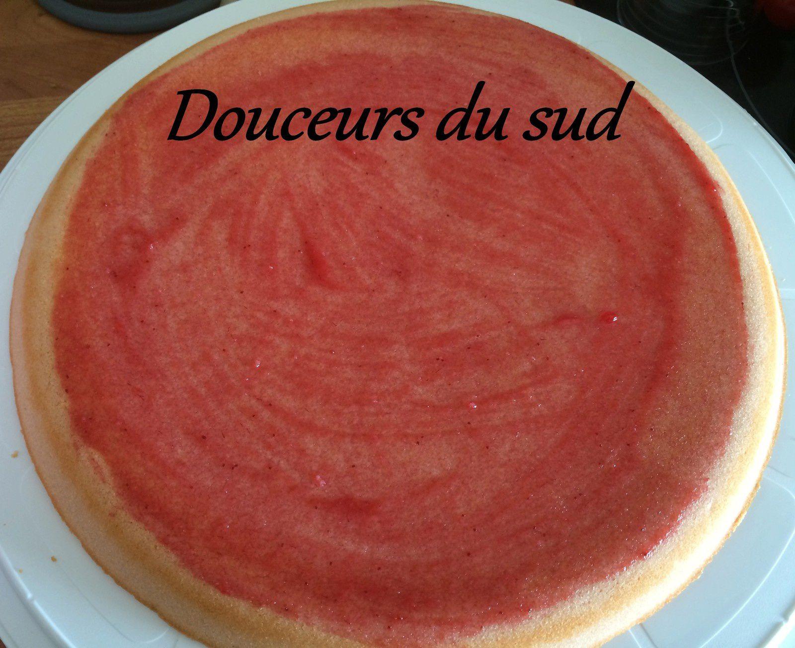 Tarte multi fruits (pâte moelleuse)