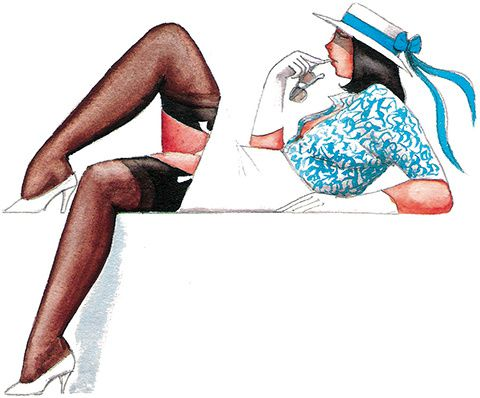 "La ""Pin-up"" selon Alain Morault"