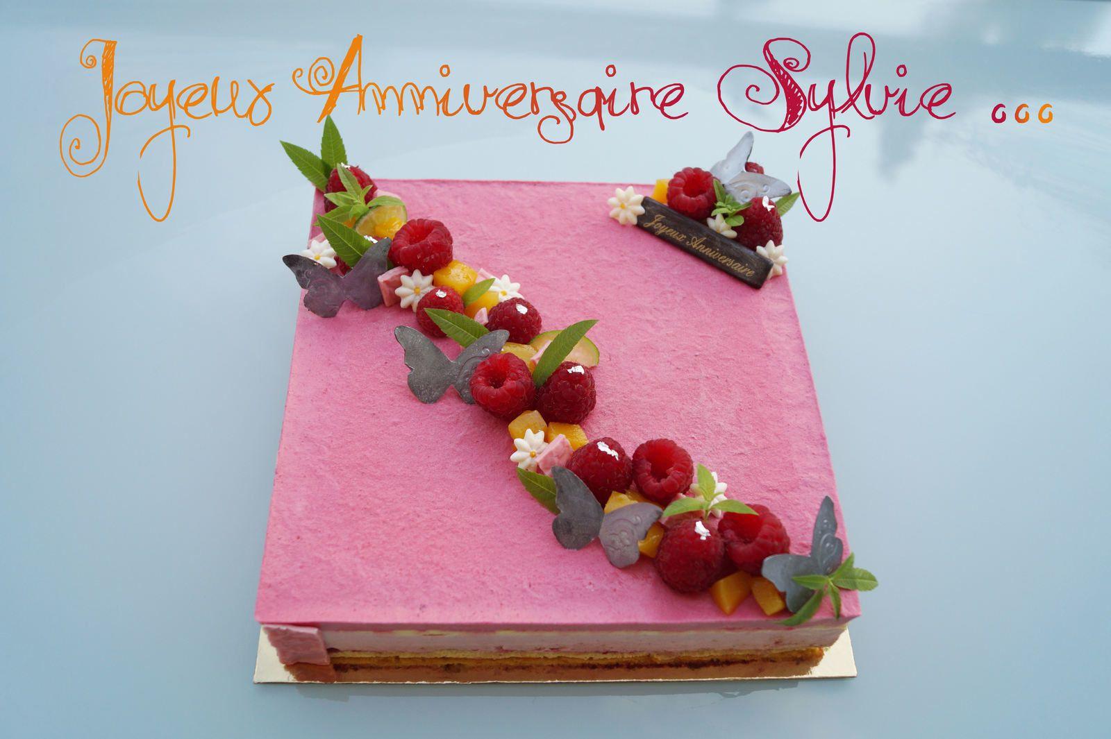 Joyeux Anniversaire Sylvie Passionnement Gourmande