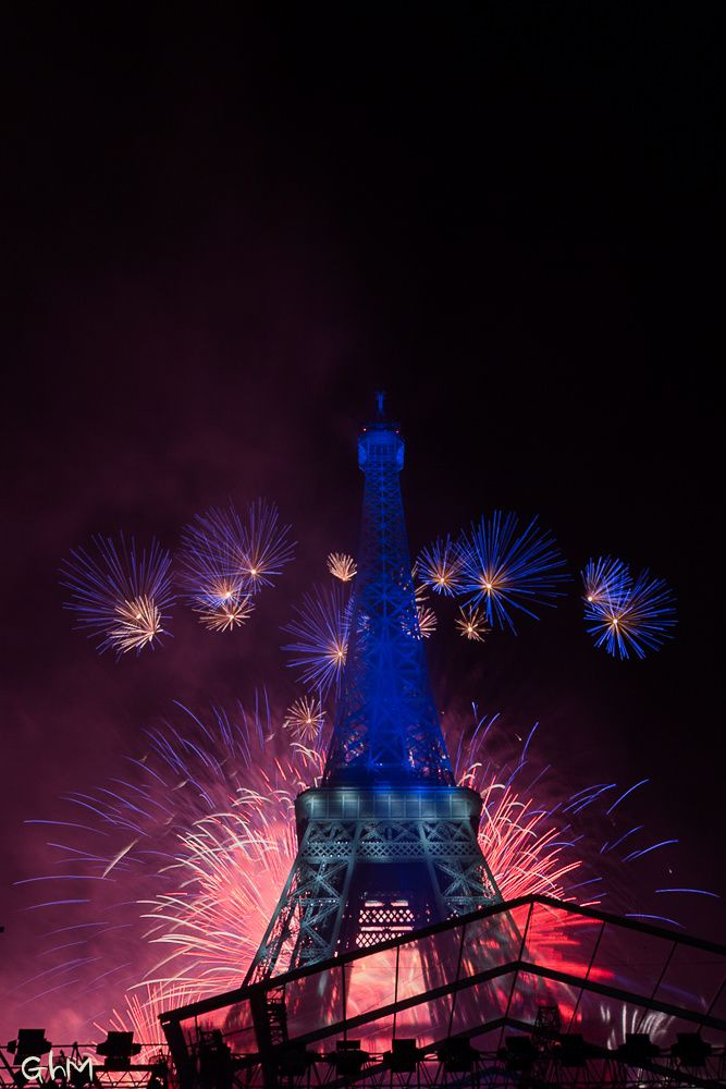 Paris- Spectacle du 14 Juillet 2014