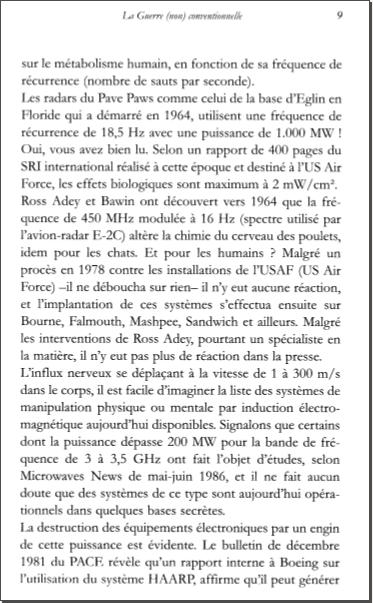 Les armes de l'ombre - extrait du livre de Marc Filterman