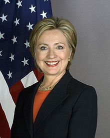 source: http://fr.wikipedia.org   Hillary Clinton