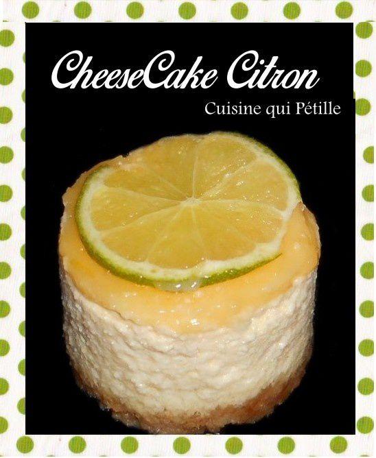 cheesecake citron et citron vert philadelphia