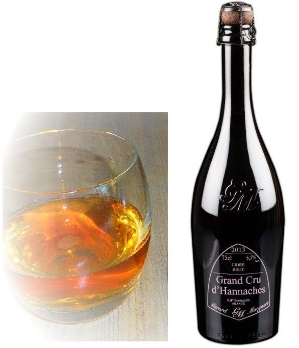 grand cru cidre millésime d'Hannaches