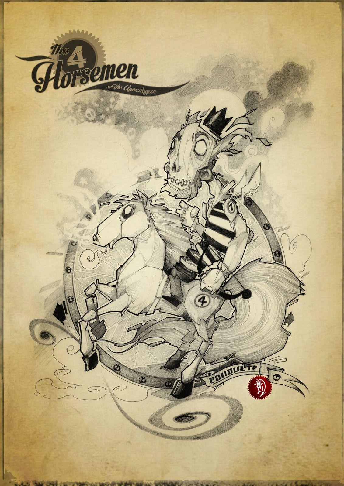 The Four Horsemen. 01