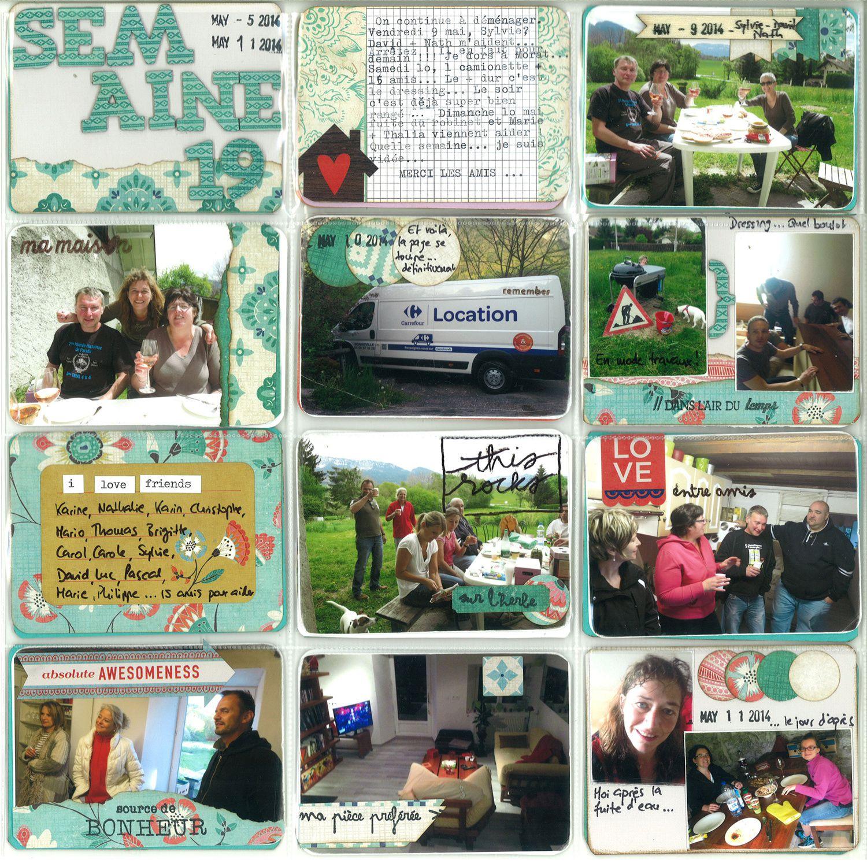 Project Life 2014 - Semaine 17 à 21