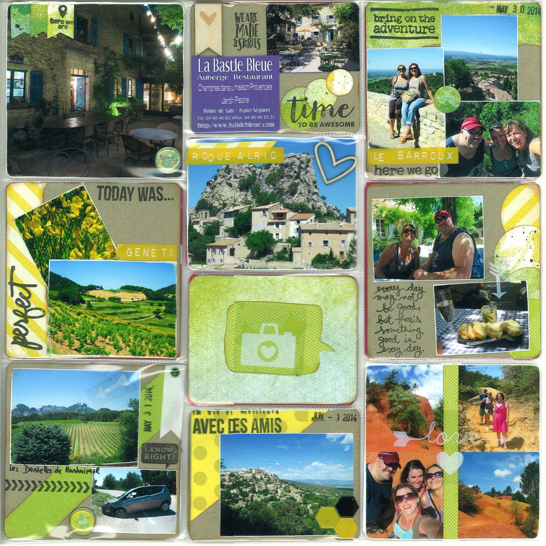 Toujours Semaine 22... ah la Provence... les bonnes bouffes, le soleil, les paysages...