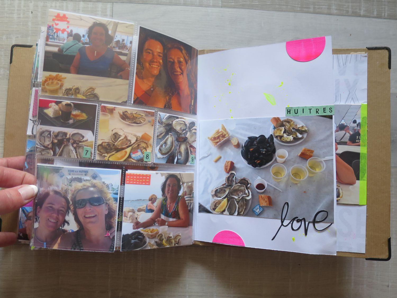 On finit les vacances avec Marie à Bouzigues, à la fête de l'huitre :-)
