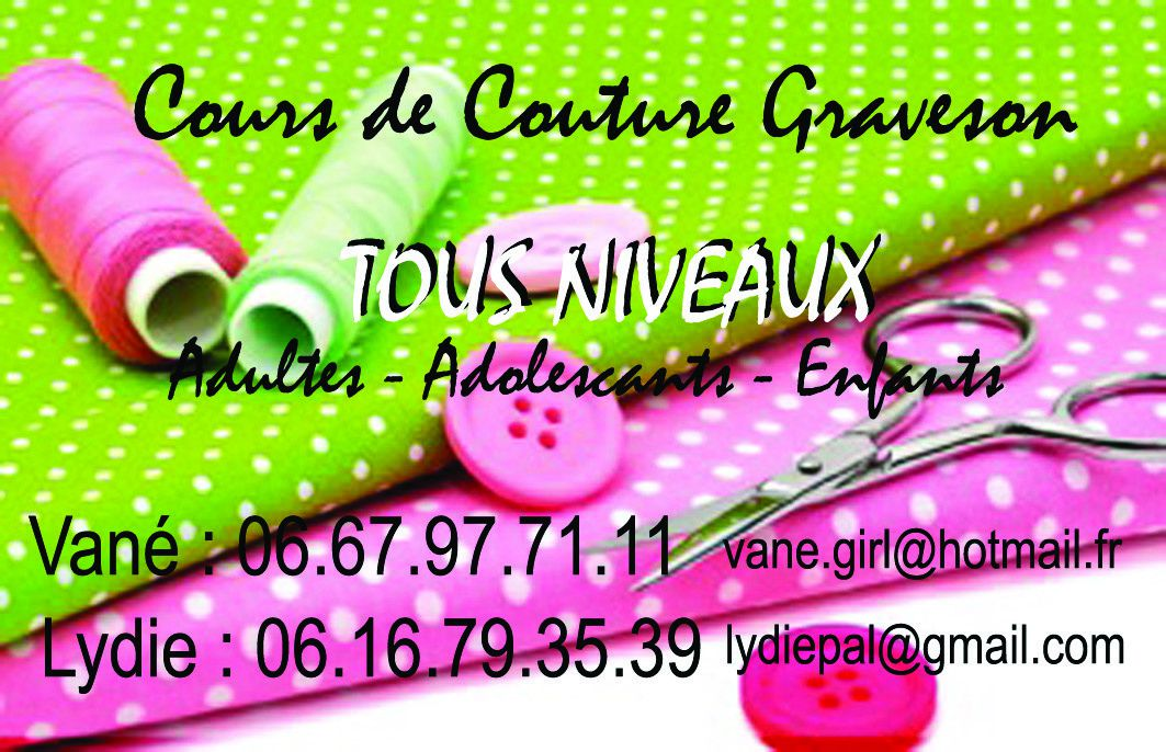 cours couture narbonne