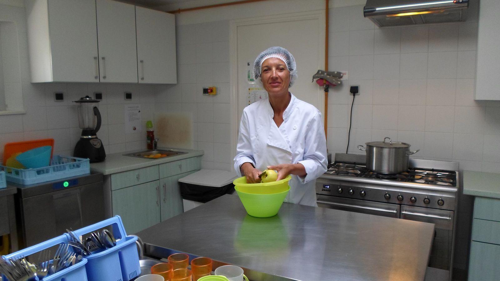 Céline (CAP petite enfance et cuisinière pour les enfants)