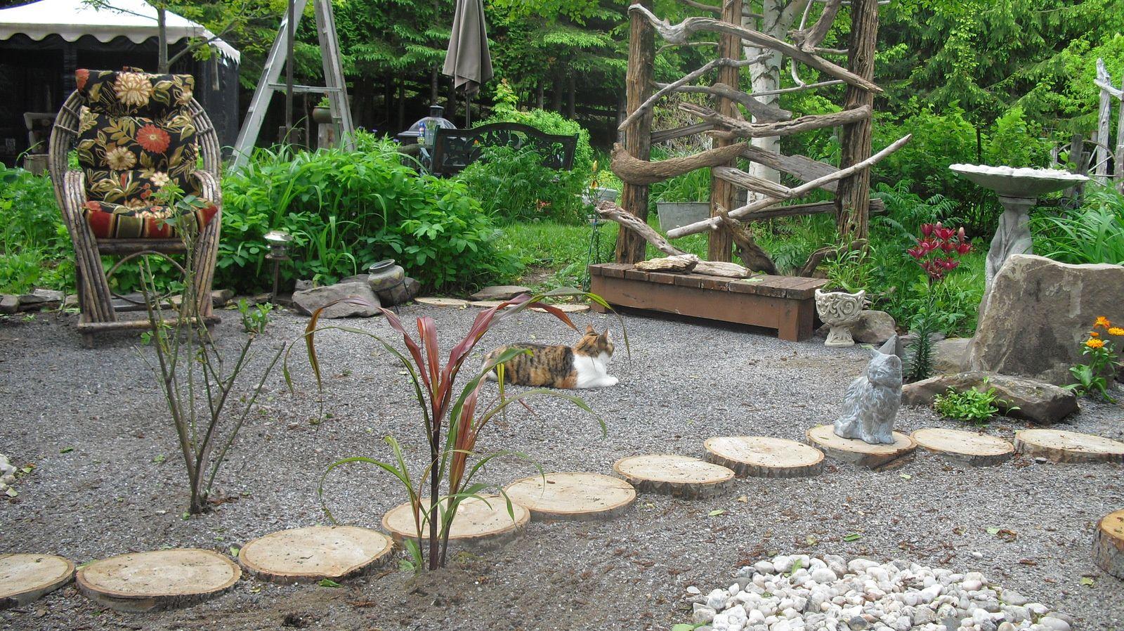 photos de jardin zen rouffignac de sigoules 24240