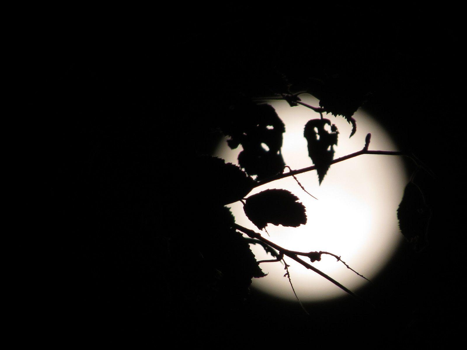 La lune...