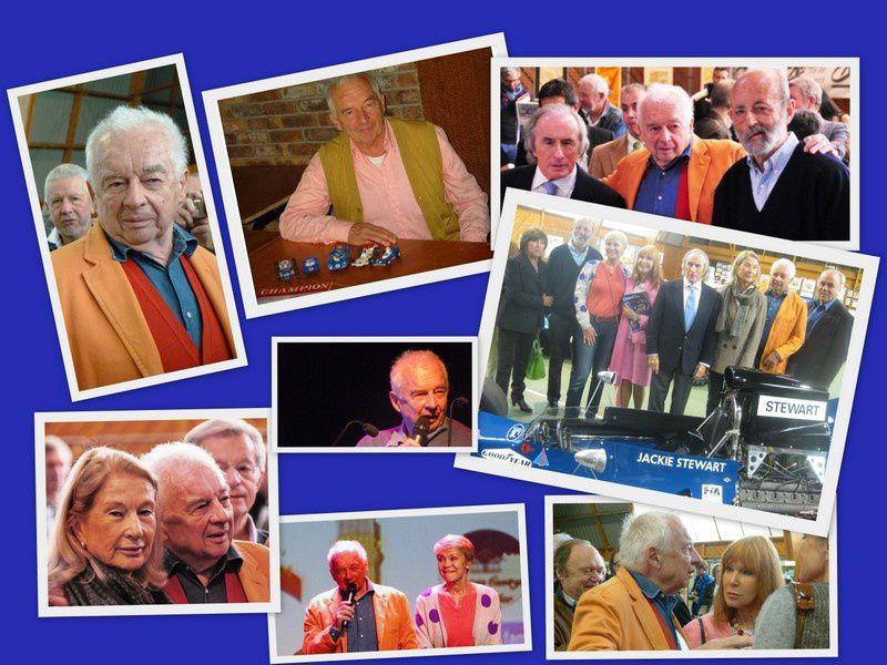 photos prises lors de nos expo/conférences 2013/2014 et de l'inauguration de la rue Jean Pierre Beltoise