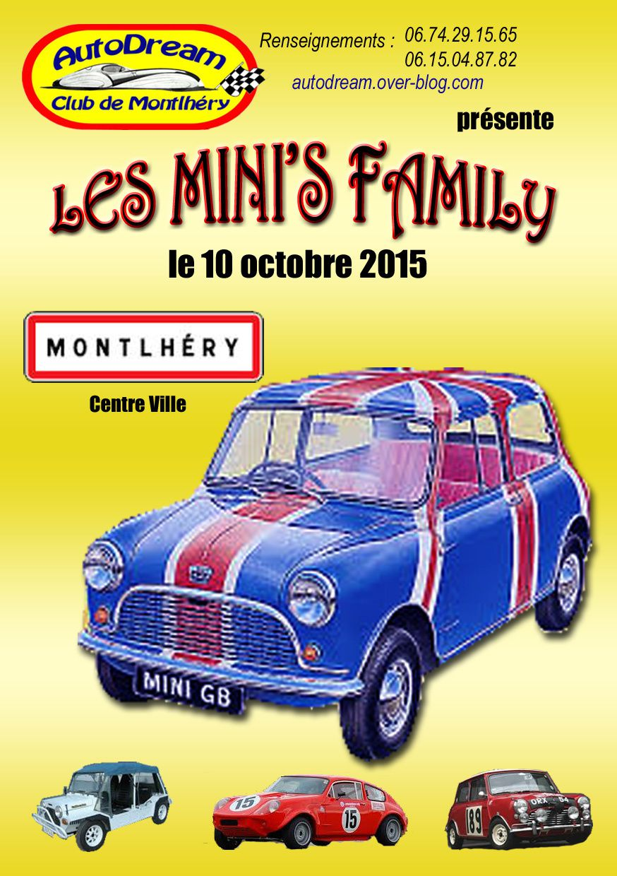 Les Mini's FAMILY  10 octobre 2015