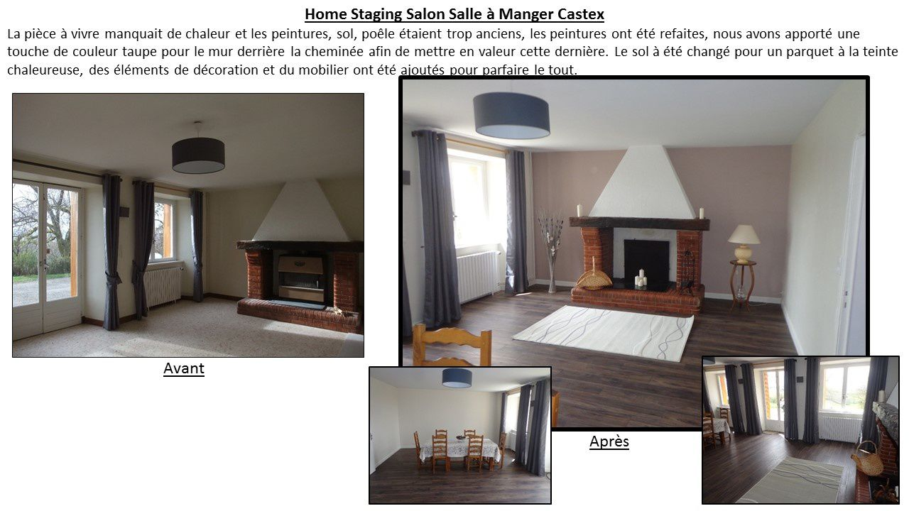 Home staging d 39 une maison de campagne home staging for a for Salon maison de campagne