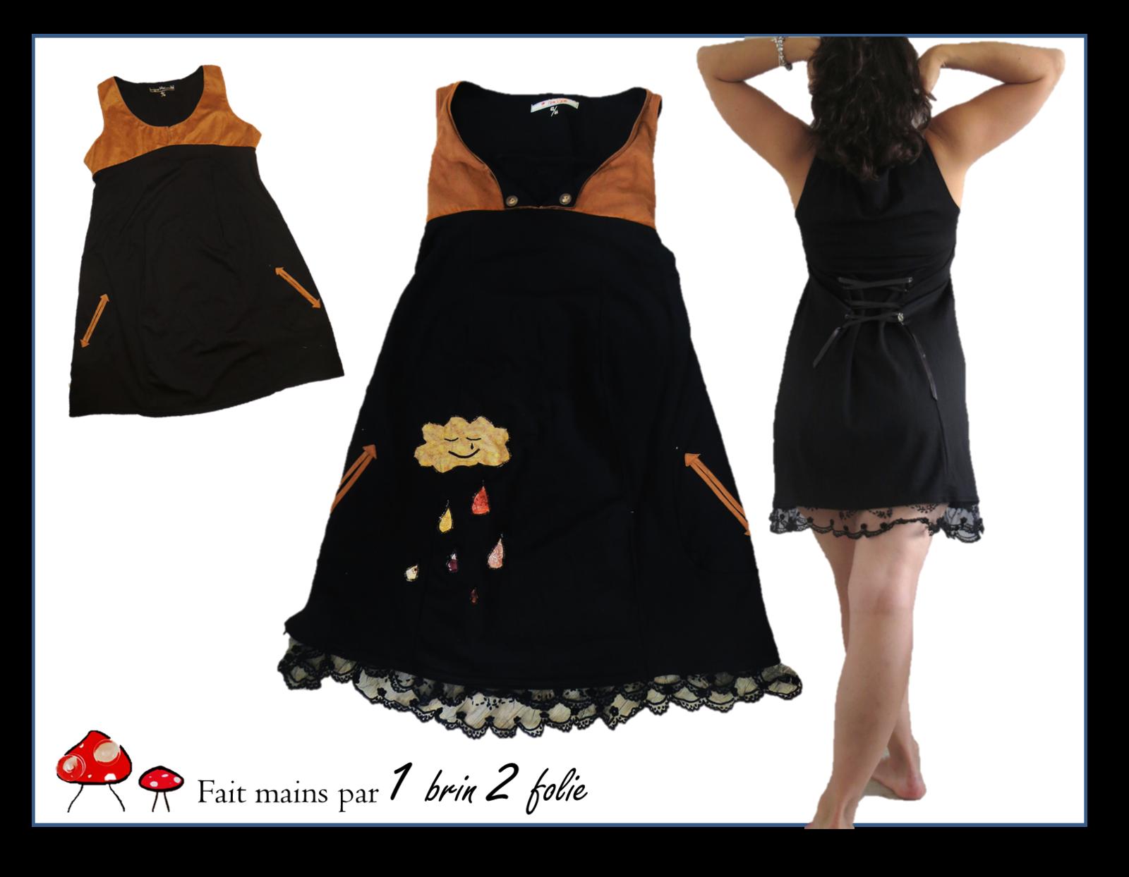 diy une nouvelle vie pour ma petite robe noire de. Black Bedroom Furniture Sets. Home Design Ideas