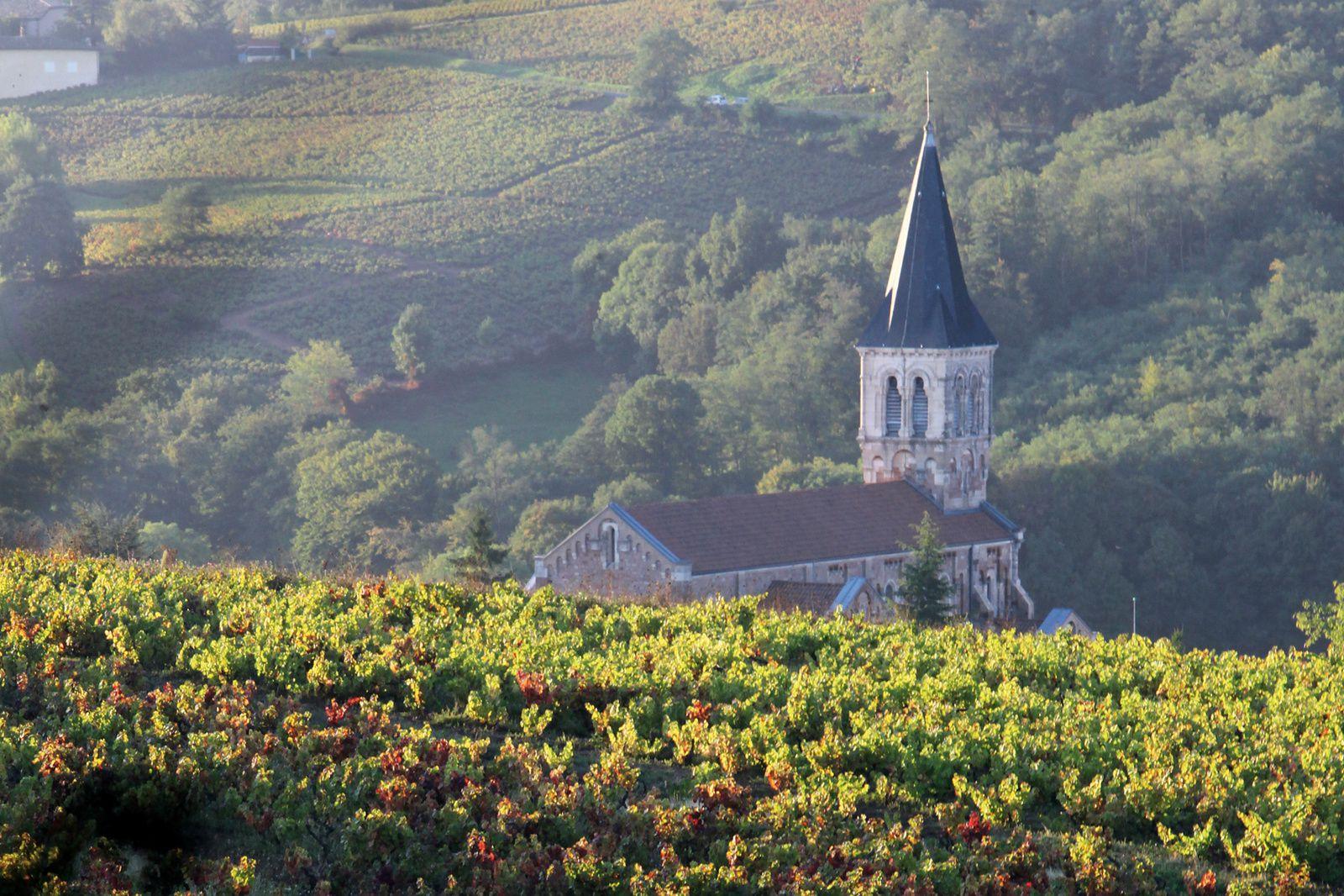 En avril, le Beaujolais fête ses crus sur la route des terroirs...