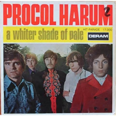 Histoire d'une chanson: Whiter shade Of Pale (1967)