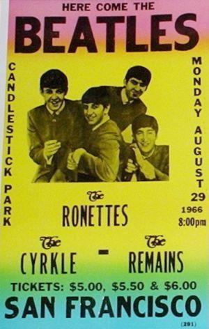 Il y a 50 ans... le dernier concert des Beatles (29 août 1966)