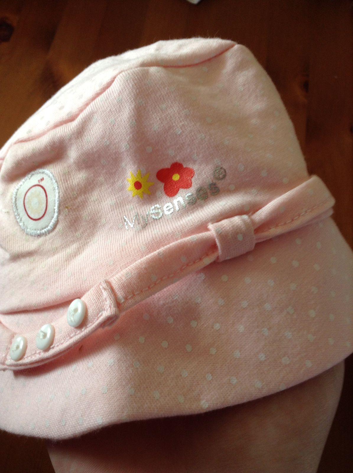 le joli chapeau MySenes de Juline pour cet été avec détecteur de rayon UV !