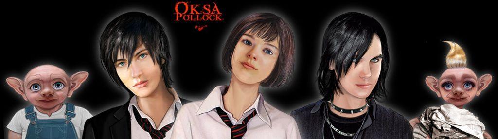 OKSA POLLOCK Tome 3: Le Coeur des deux mondes