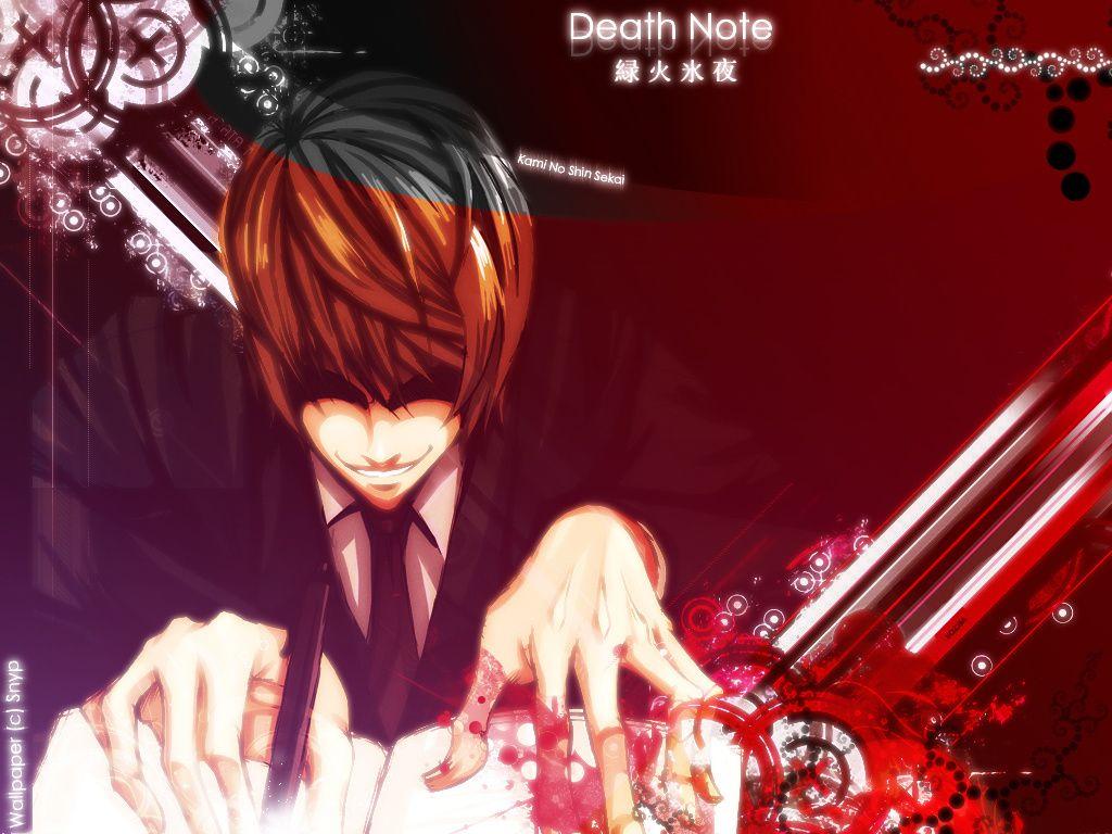fond ecran Death Note