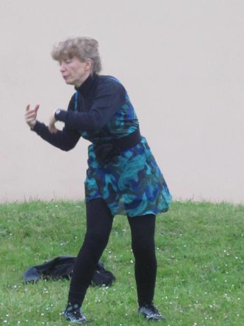 La saison 2013 se termine par une pratique de Wutao et un pique-nique convivial