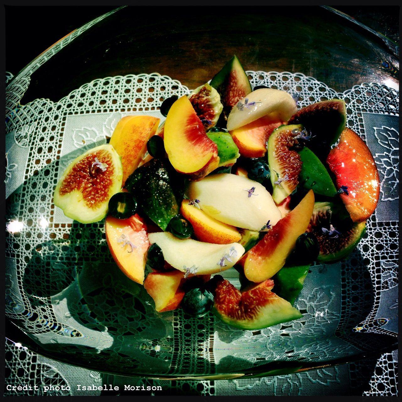 Salade de fruits de fin d'été