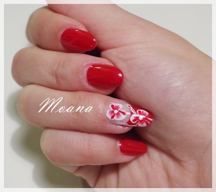 Nail Art Saint Valentin ♥ - Flot à 3 noeuds